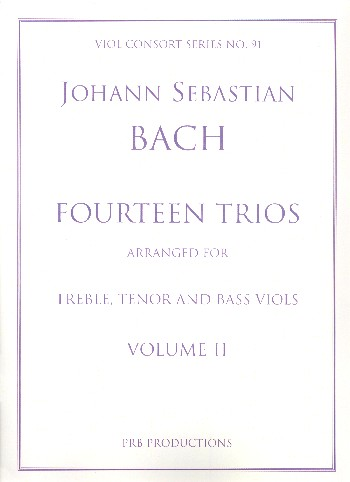14 Trios vol.2 (no.8-14): for 3 viols (ATB)
