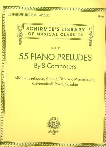 55 Piano Preludes: for piano