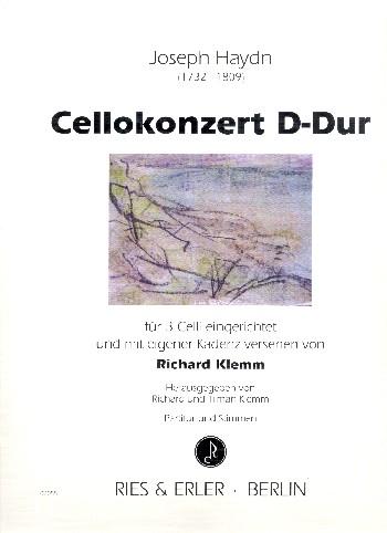 Konzert D-Dur für Violoncello und Orchester: für Violoncello solo und 2 Violoncelli