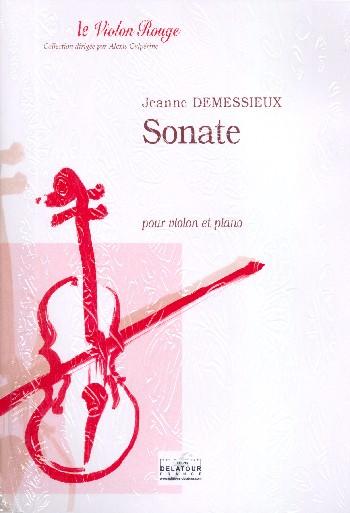 Sonata: for violin and piano