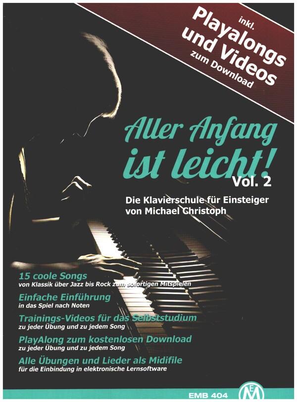 Aller Anfang ist leicht (+DVD +Playback-CD): für Klavier