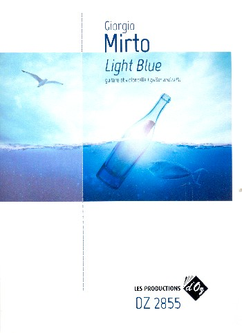 Light blue: for cello and guitar