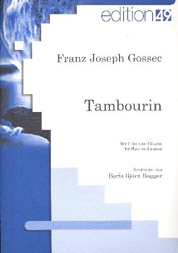 Tambourin: für Flöte und Gitarre