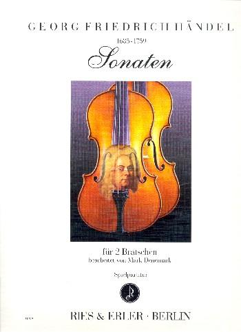 Sonaten aus opus.1: für 2 Violen