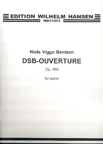 DSB-Ouverture opus.469: for piano