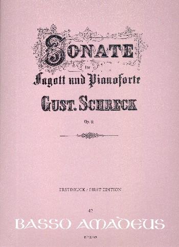 Sonate Es-Duropus.9: für Fagott und Klavier