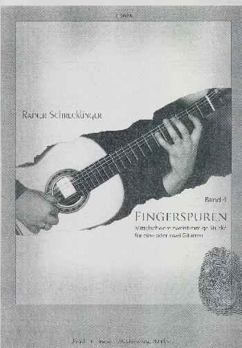 Fingerspuren Band 4: für 1-2 Gitarren