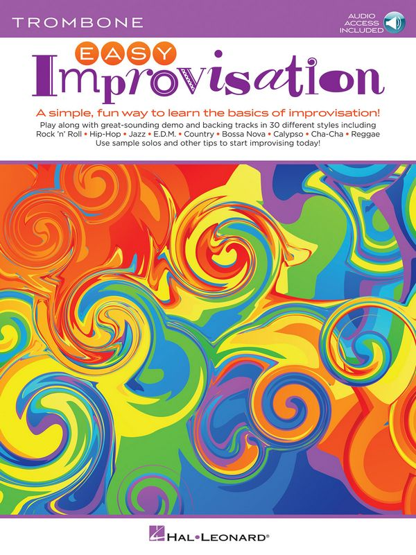 Easy Improvisation (+Audio Access): for trombone