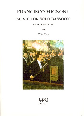 16 Waltzes and Sonatine: for bassoon