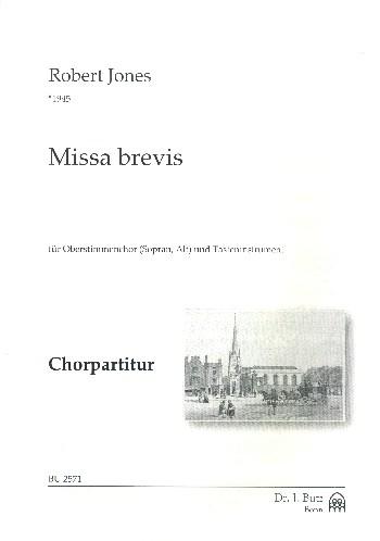 Missa brevis: für Frauenchor (Kinderchor) und Tasteninstrument