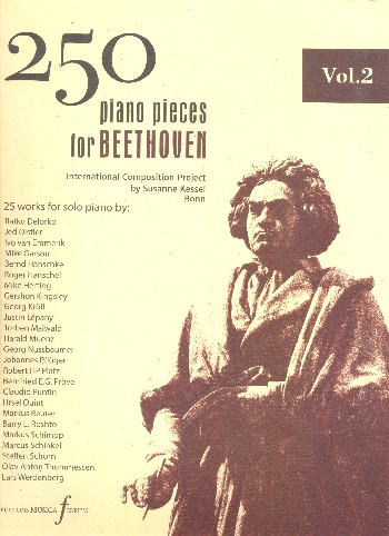 250 Piano Pieces for Beethoven vol.2