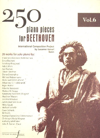 250 Piano Pieces for Beethoven vol.6