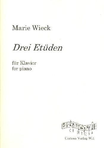 3 Etüden: für Klavier