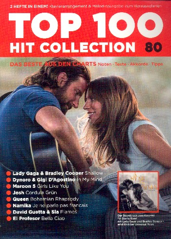 Top 100 Hit Collection Band 80 : - Vollanzeige.