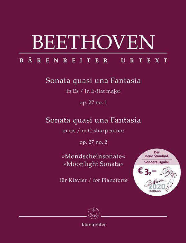 2 Sonaten op.27 : - Vollanzeige.