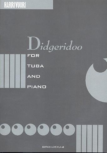 Didgeridoo: for tuba and piano