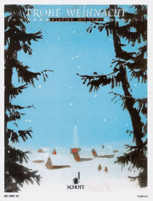Frohe Weihnacht: Violine 1 (auch solo)