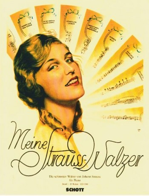 Meine Strauss-Walzer Band 1: für Klavier