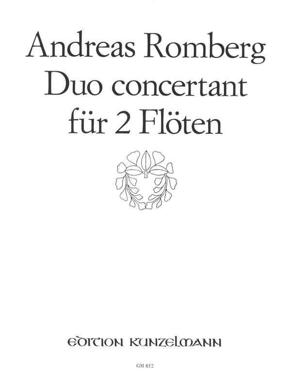 Romberg, Andreas Jakob - Duo concertant op.62,2 :
