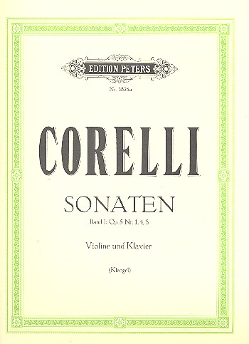 Sonaten op.5 Band 1 (Nr.1,4,8): für Violine und Klavier