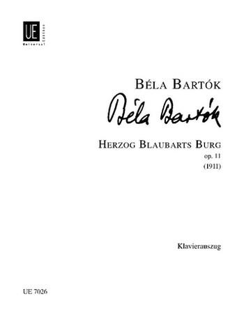 Bartók, Béla - Herzog Blaubarts Burg op.11 :
