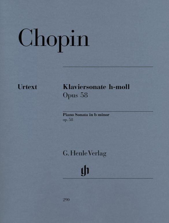 Chopin, Frédéric - Sonate h-Moll op.58 : für Klavier