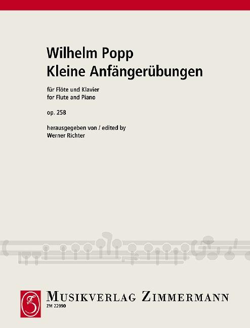 Popp, Wilhelm - Kleine Anfängerübungen op.258 :