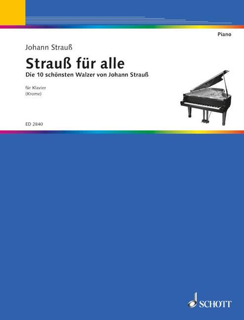 Strauß für alle: für Klavier