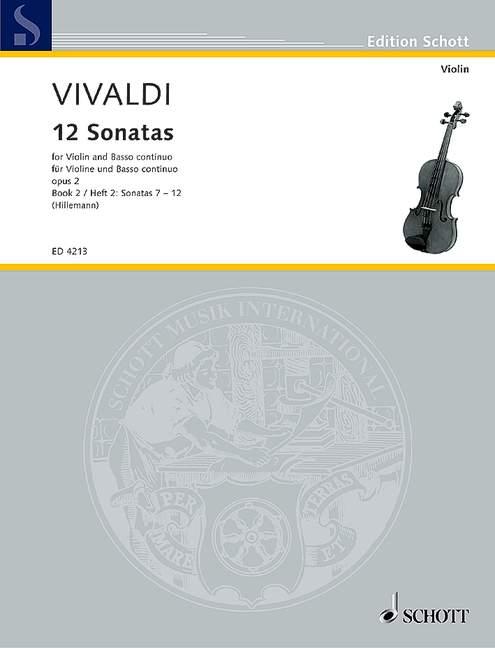 12 Sonaten opus.2 Band 2: für Violine und Klavier