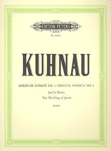 Kuhnau, Johann - Jacobs Heirat : für Cembalo