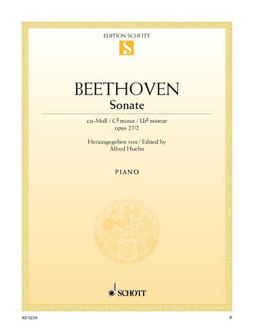 Beethoven, Ludwig van - Sonate cis-Moll op.27,2 :