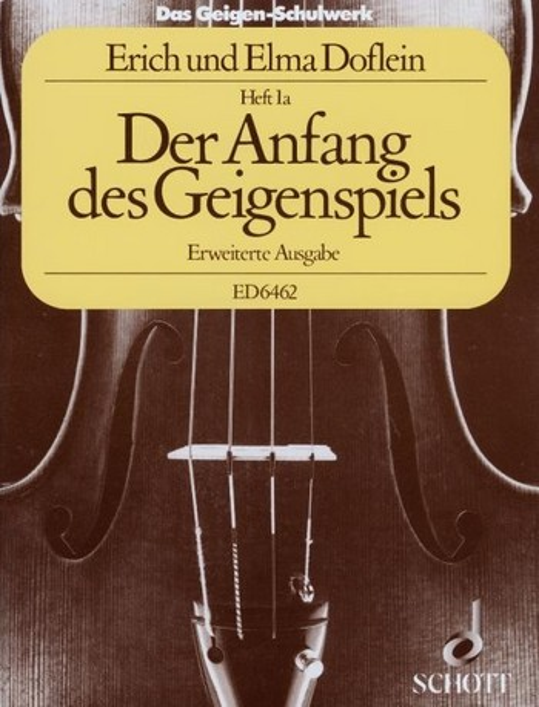 Das Geigenschulwerk Band 1a
