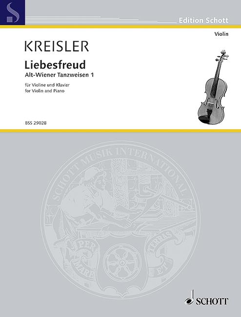 Kreisler, Fritz - Liebesfreud : für