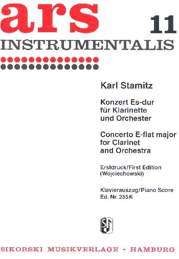 Konzert Es-Dur für Klarinette und Orchester: für Klarinette