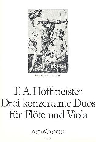 Hoffmeister, Franz Anton - 3 konzertante Duos :