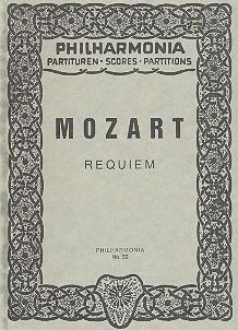Requiem KV626: für Soli, Chor und Orchester