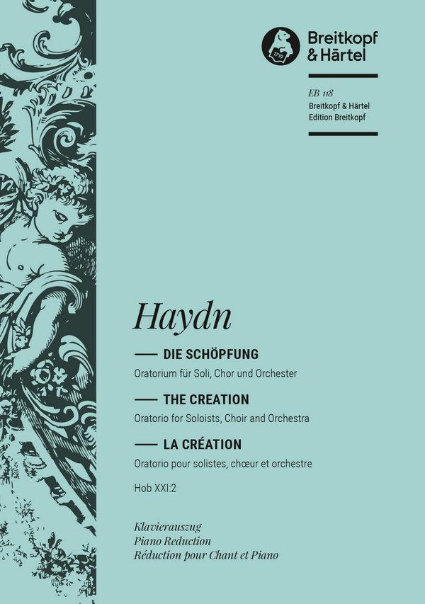 Die Schöpfung Hob.XXI:2: fü Soli, Chor und Orchester