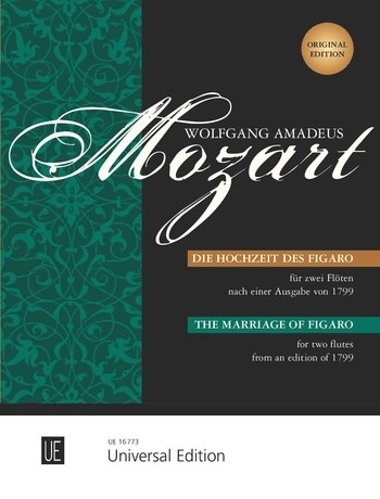 Mozart, Wolfgang Amadeus - Die Hochzeit des Figaro :