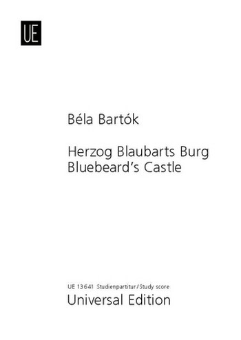 Herzog Blaubarts Burg: Studienpartitur (dt/en)