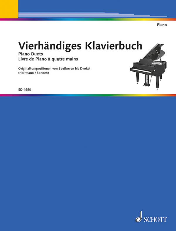 - Vierhändiges Klavierbuch