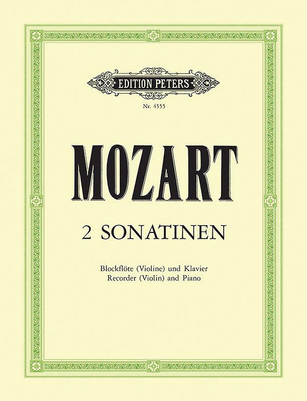 Mozart, Wolfgang Amadeus - 2 Sonatinen aus den Wiener Sonaten