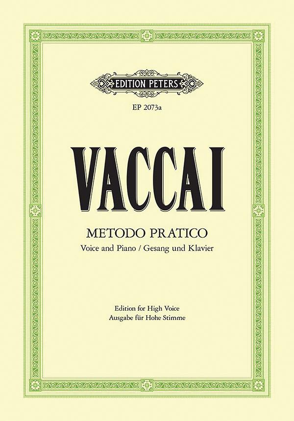 Vaccai, Nicola - Metodo pratico di canto italiano :