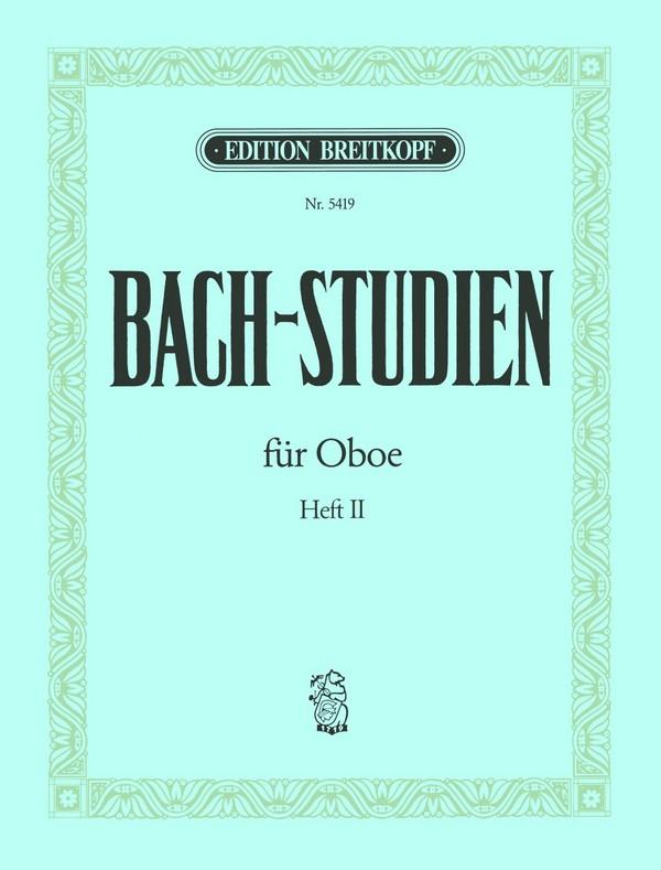 Bach, Johann Sebastian - Bach-Studien Band 2 : für Oboe