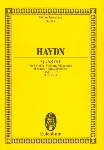 Streichquartett B-Dur op.33,1 Hob.III:37