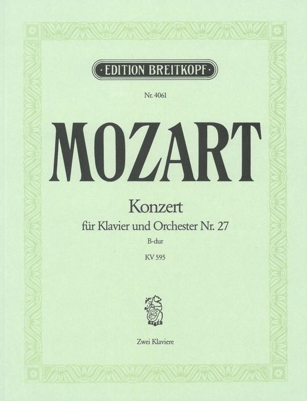 Mozart, Wolfgang Amadeus - Konzert B-Dur Nr.27 KV595 für