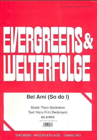 Mackeben, Theo - Bel Ami : Einzelausgabe
