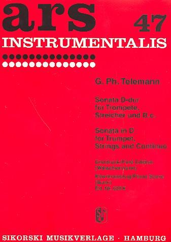 Telemann, Georg Philipp - Sonate D-Dur :