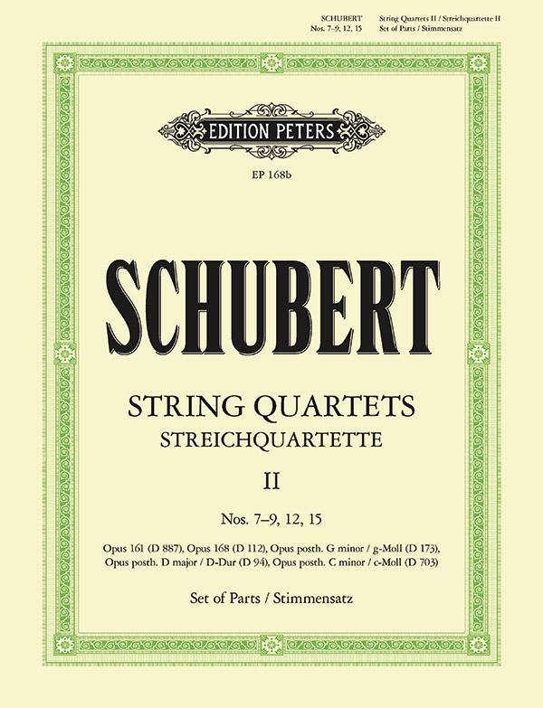Streichquartette Band 2 Stimmen