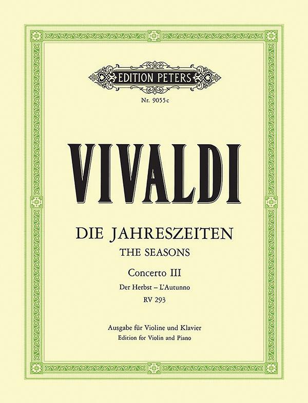 Vivaldi, Antonio - Konzert F-Dur RV293 für Violine und