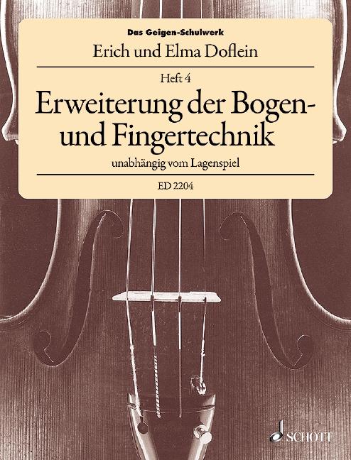 Das Geigenschulwerk Band 4